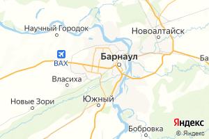Карта г. Барнаул Алтайский край
