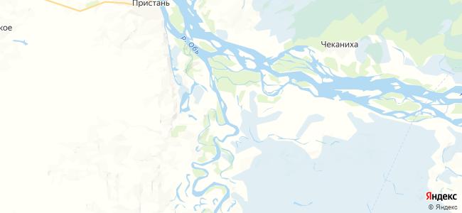 Усть-Чарыш на карте