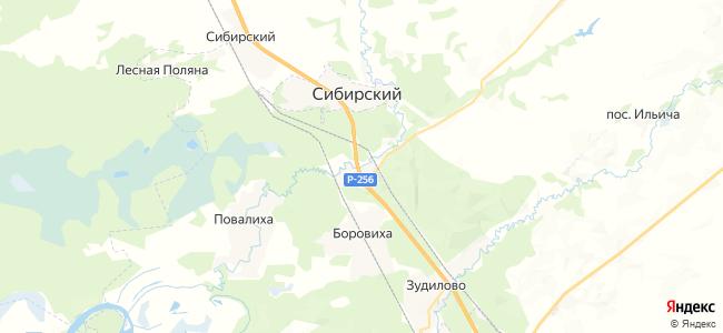 Казачий на карте
