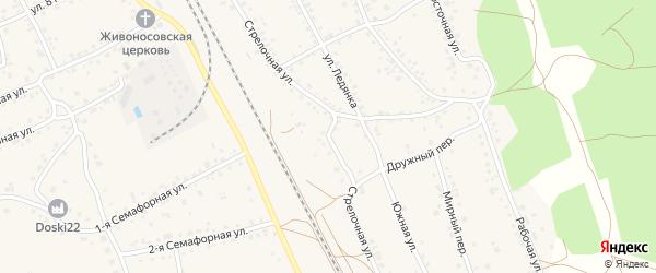 Стрелочная улица на карте села Боровихи с номерами домов