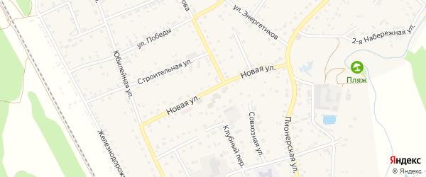Новая улица на карте села Зудилово с номерами домов