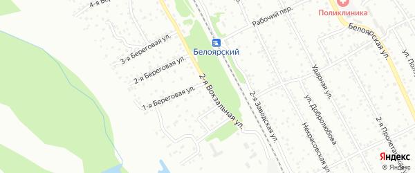 2-я Вокзальная улица на карте Новоалтайска с номерами домов