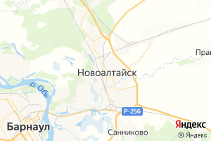 Карта г. Новоалтайск Алтайский край