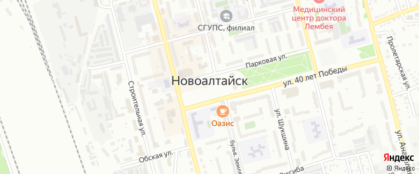Кармацкая улица на карте Новоалтайска с номерами домов