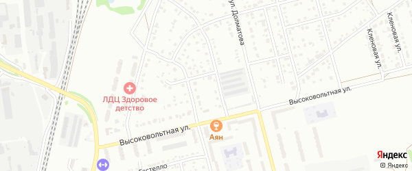3-й квартал на карте Северного микрорайона с номерами домов