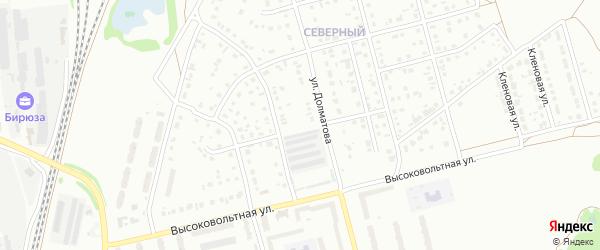 5-й квартал на карте Северного микрорайона с номерами домов