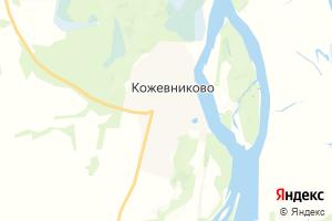 Карта с. Кожевниково