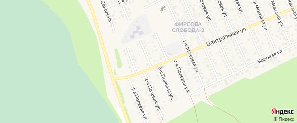 3-я Полевая улица на карте села Фирсово Алтайского края с номерами домов