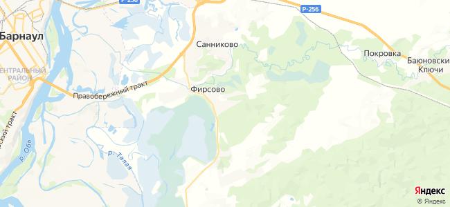 Лесной на карте