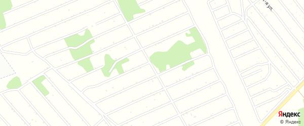 13-я улица на карте садового некоммерческого товарищества Надежды с номерами домов