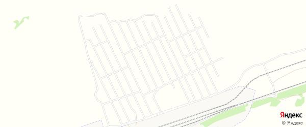 Садовое товарищество Раздолье-2 на карте Первомайского района Алтайского края с номерами домов