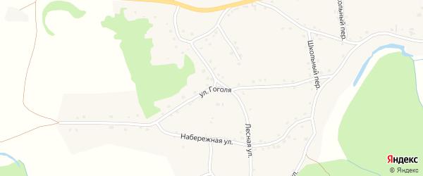 Улица Гоголя на карте Петропавловского села с номерами домов