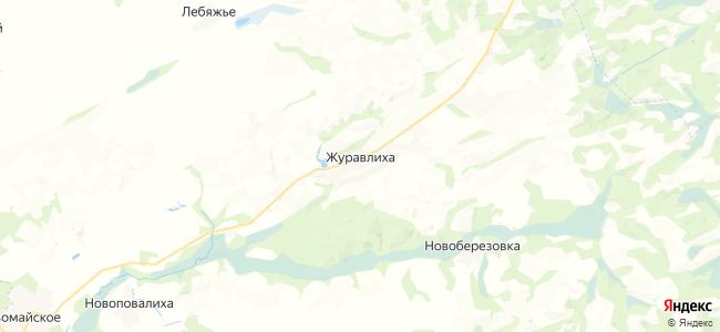 Журавлиха на карте