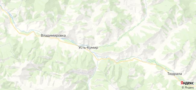 Талица на карте