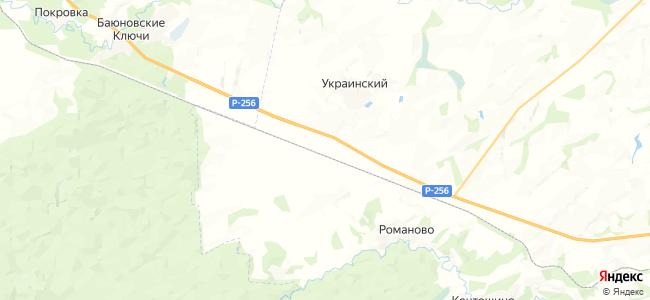 Баюново на карте
