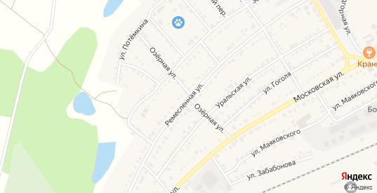 Озерная улица в Болотном с номерами домов на карте. Спутник и схема онлайн