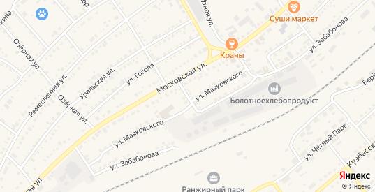 Сенной переулок в Болотном с номерами домов на карте. Спутник и схема онлайн