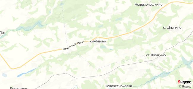 Голубцово на карте