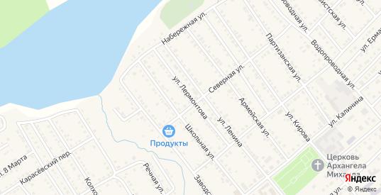 Улица Лермонтова в Болотном с номерами домов на карте. Спутник и схема онлайн