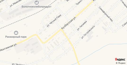 Туннельный переулок в Болотном с номерами домов на карте. Спутник и схема онлайн