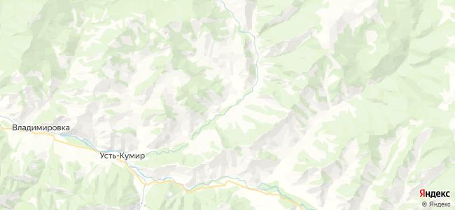 Санаровка на карте
