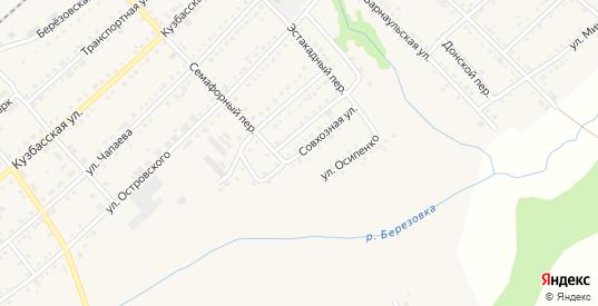 Совхозная улица в Болотном с номерами домов на карте. Спутник и схема онлайн