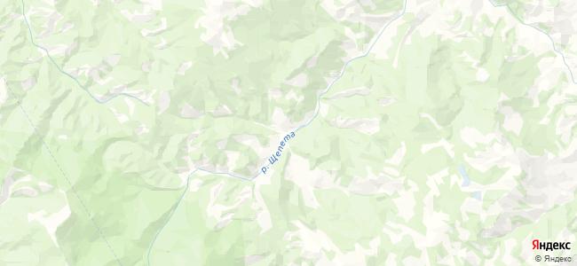 Елиново на карте