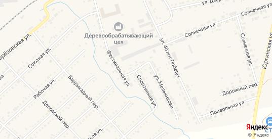 Таежный переулок в Болотном с номерами домов на карте. Спутник и схема онлайн