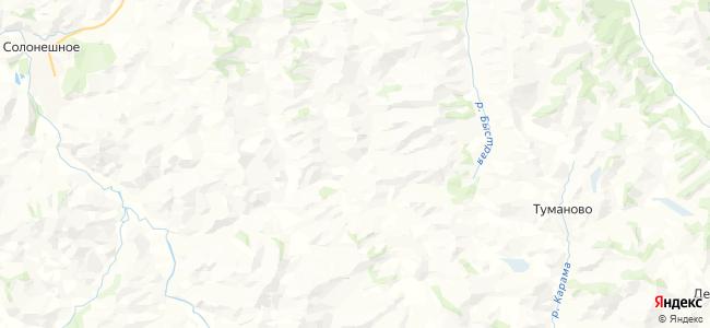 Барсуково на карте