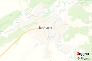 Карта с. Косиха Алтайский край