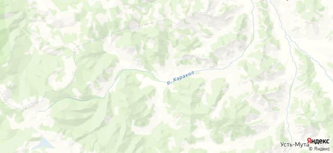 Каракол на карте