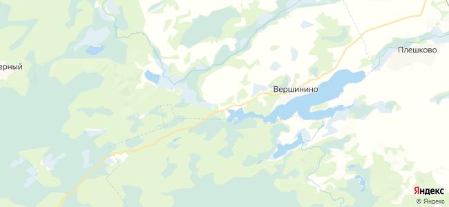 Уткуль на карте