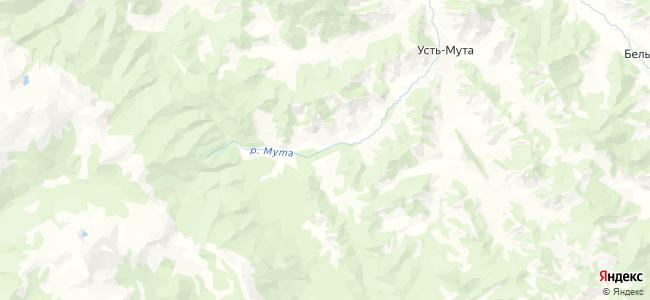Верх-Мута на карте