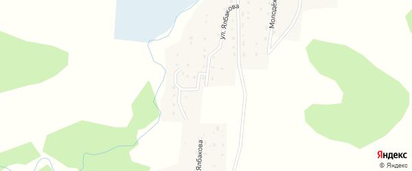 Улица Им М.Ялбакова на карте села Козуля Алтая с номерами домов