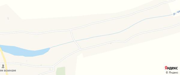 Подгорный переулок на карте села Черного Ануй Алтая с номерами домов