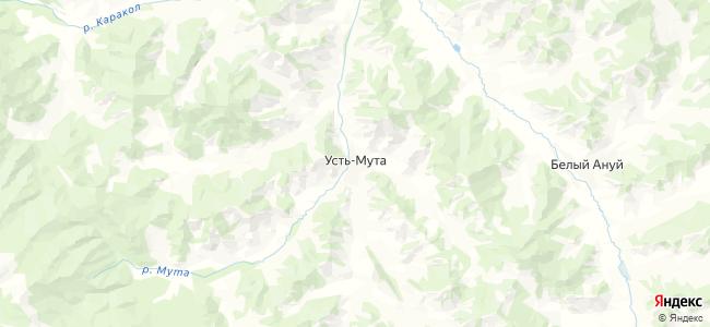 Усть-Мута на карте
