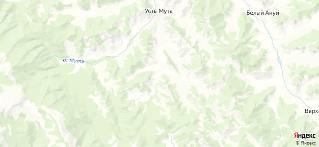 Келей на карте