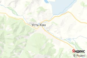 Карта с. Усть-Кан
