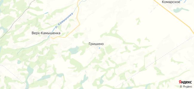 Гришино на карте