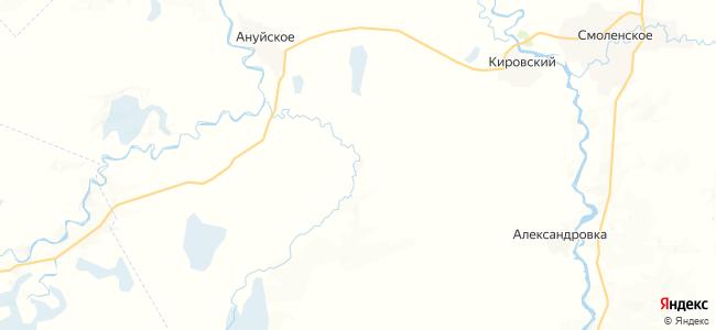 Камышенка на карте