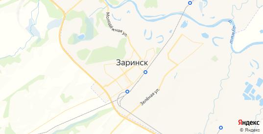 Карта Заринска с улицами и домами подробная. Показать со спутника номера домов онлайн