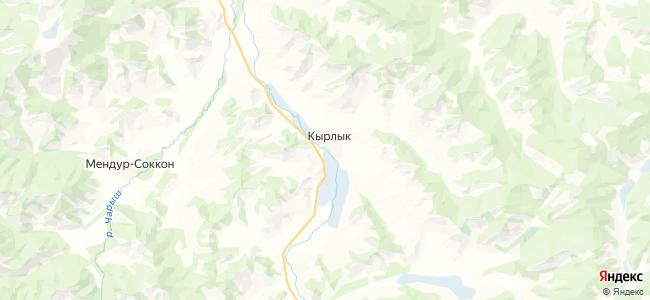 Кырлык на карте