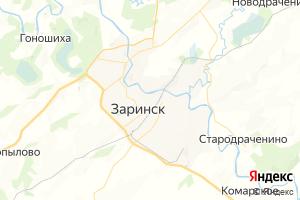 Карта г. Заринск