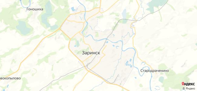 Заринск на карте