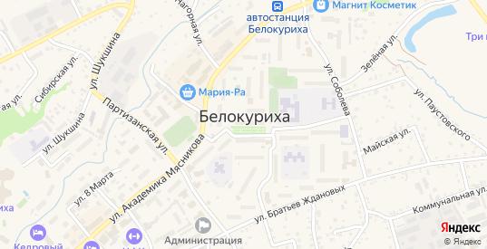 Улица Угрюмова в Белокурихе с номерами домов на карте. Спутник и схема онлайн