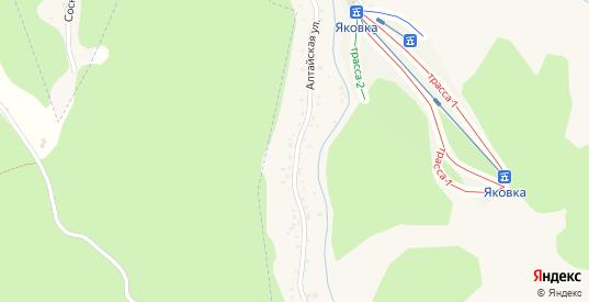 Алтайская улица в Белокурихе с номерами домов на карте. Спутник и схема онлайн