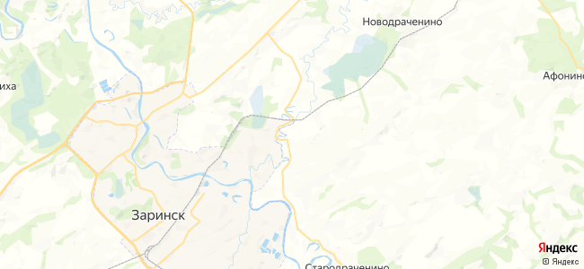 Кокорское на карте