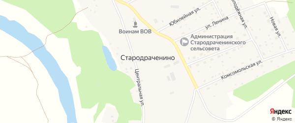 Пролетарская улица на карте села Стародраченино с номерами домов