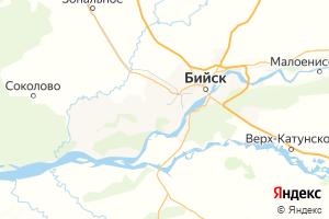Карта г. Бийск Алтайский край