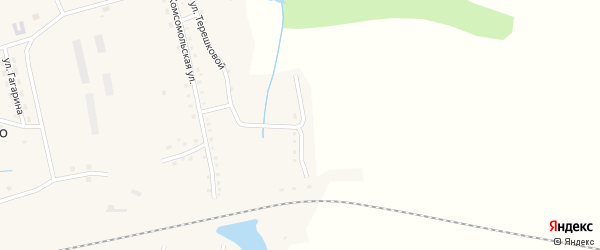 Целинная улица на карте станции Смазнево с номерами домов